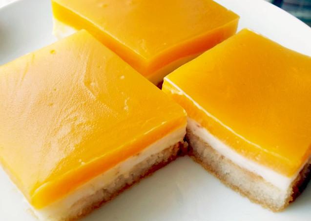 Γλυκάκι με φρυγανιές και κρέμα πορτοκαλιού!