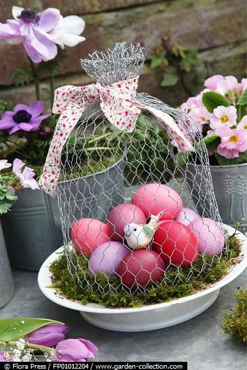 Πασχαλινές διακοσμήσεις για το εορταστικό σας τραπέζι!