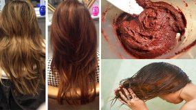 Μάθετε πως να κάνετε τα μαλλιά σας λαμπερά ή να τα βάψετε χωρίς βαφές μαλλιών ή άλλες χημικές ουσίες!
