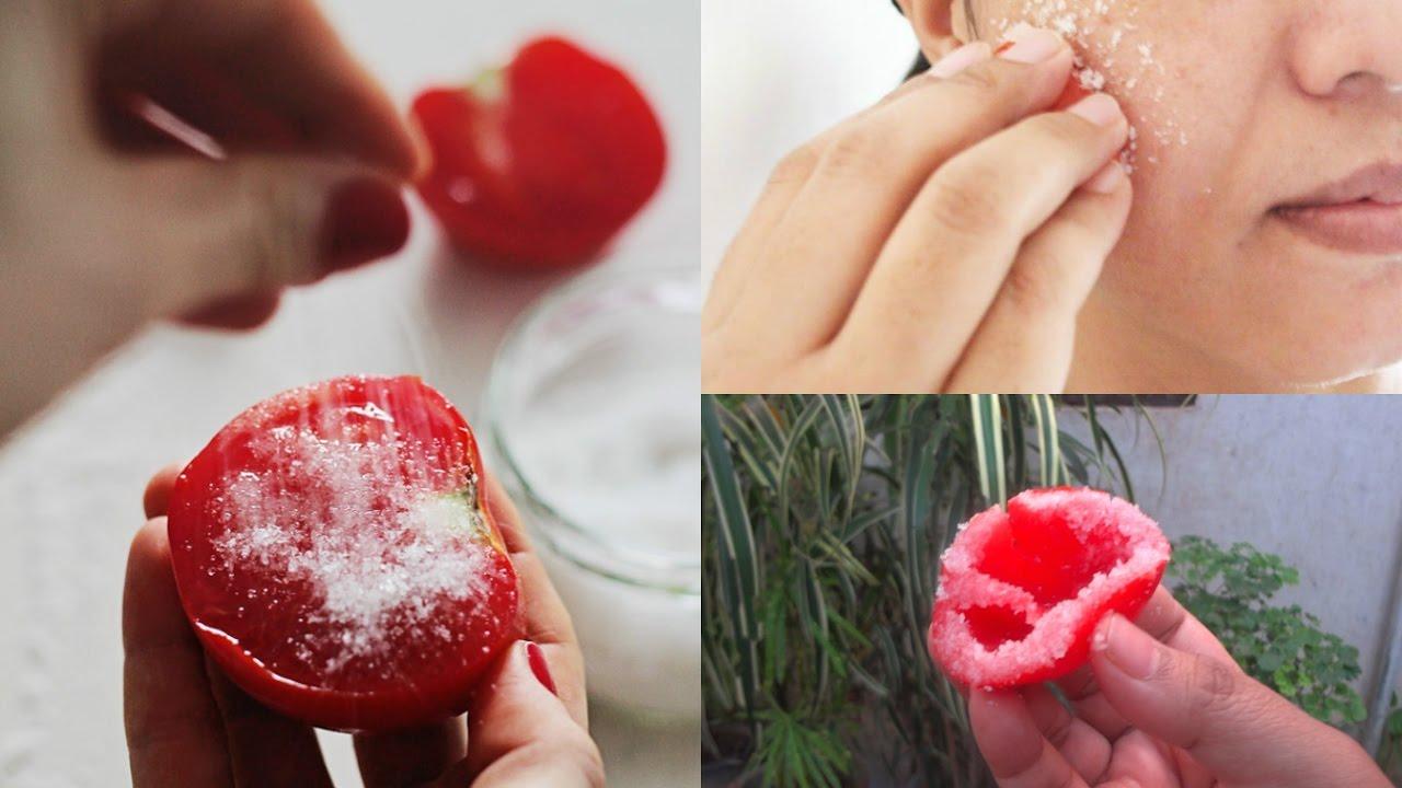 Φτιάξτε αυτό το σπιτικό scrub ντομάτας για ένα λαμπερό πρόσωπο!