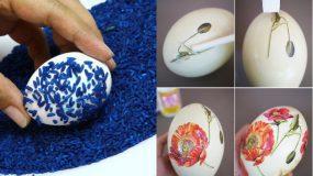 Πρωτότυπες ιδέες πασχαλινής διακόσμησης των αυγών