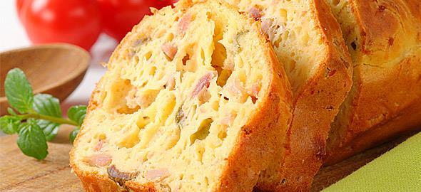 Συνταγές για αλμυρά κέικ... πειρασμός!