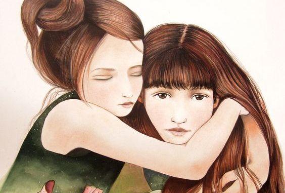 Η αδελφή μας δεν είναι απλώς φίλη, είναι το μισό της καρδιάς μας