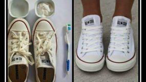 Πως να καθαρίσεις τα πάνινα παπούτσια σου!