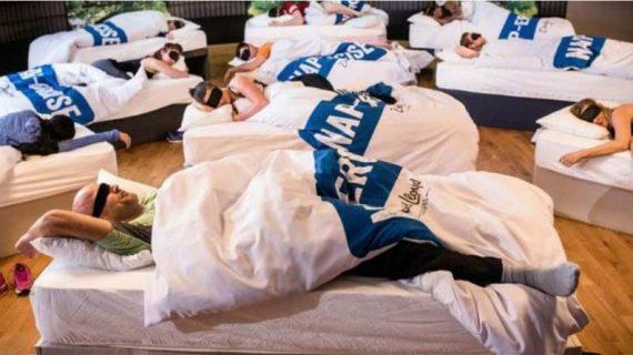 «Νapercise»: Ένα νέο είδος γυμναστικής που απαιτεί μόνο πιτζάμες και κρεβάτι