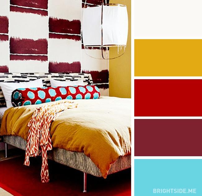 Κάντε την κρεβατοκάμαρά σας να ξεχωρίσει με αυτούς τους υπέροχους συνδυασμούς χρωμάτων!