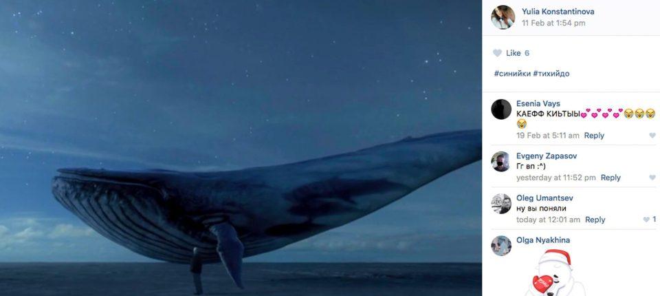 «Μπλε Φάλαινα»: προσοχή στο φονικό παιχνίδι