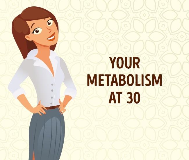 Το ξέρατε οτι ο μεταβολισμός λειτουργει διαφορετικά ανάλογα την ηλικία σας;