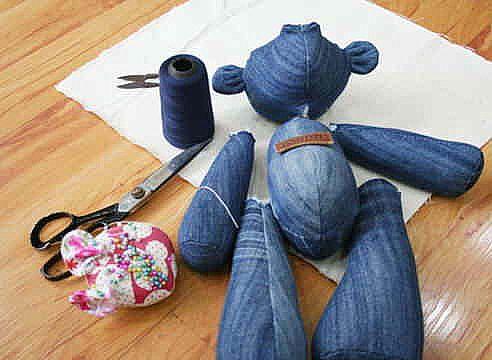 Φτιάξτε χαριτωμένα υφασμάτινα αρκουδάκια!Απο τα φορμάκια των παιδιών