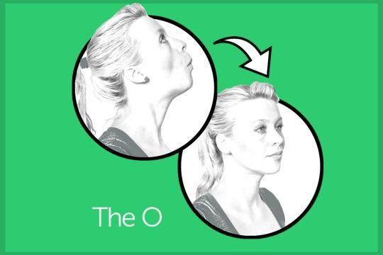 Πέντε απλές ασκήσεις για να εξαφανίσετε το διπλοσάγονο!
