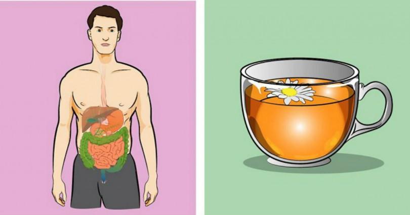 Πιείτε μια κούπα χαμομήλι και δείτε αυτές τις απίστευτες αλλαγές στο πεπτικό σας σύστημα