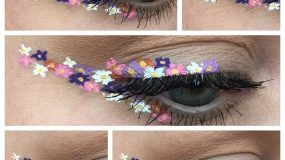 Flower Eyeliner: Αυτή είναι ξεκάθαρα η πιο ανοιξιάτικη εκδοχή του κλασικού eyeliner!