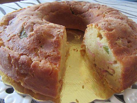 Aλμυρό κέικ με λίγα υλικά
