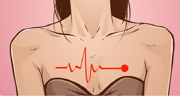 Κοριτσια Προσοχή! Η καρδιακή προσβολή έχει διαφορετικά συμπτώματα στις γυναίκες!