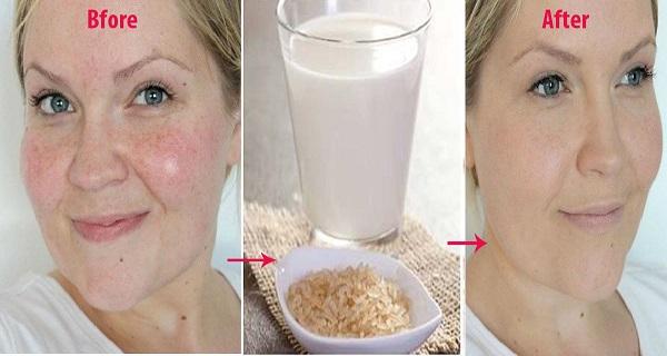 Πλένει το πρόσωπό της με νερό από βρασμένο ρύζι και αυτό που συμβαίνει είναι απίστευτο...