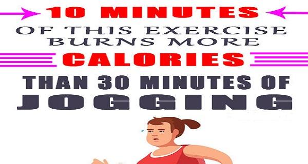 10 λεπτά αυτής της άσκησης καίνε περισσότερες θερμίδες από 30 τζοκινγκ