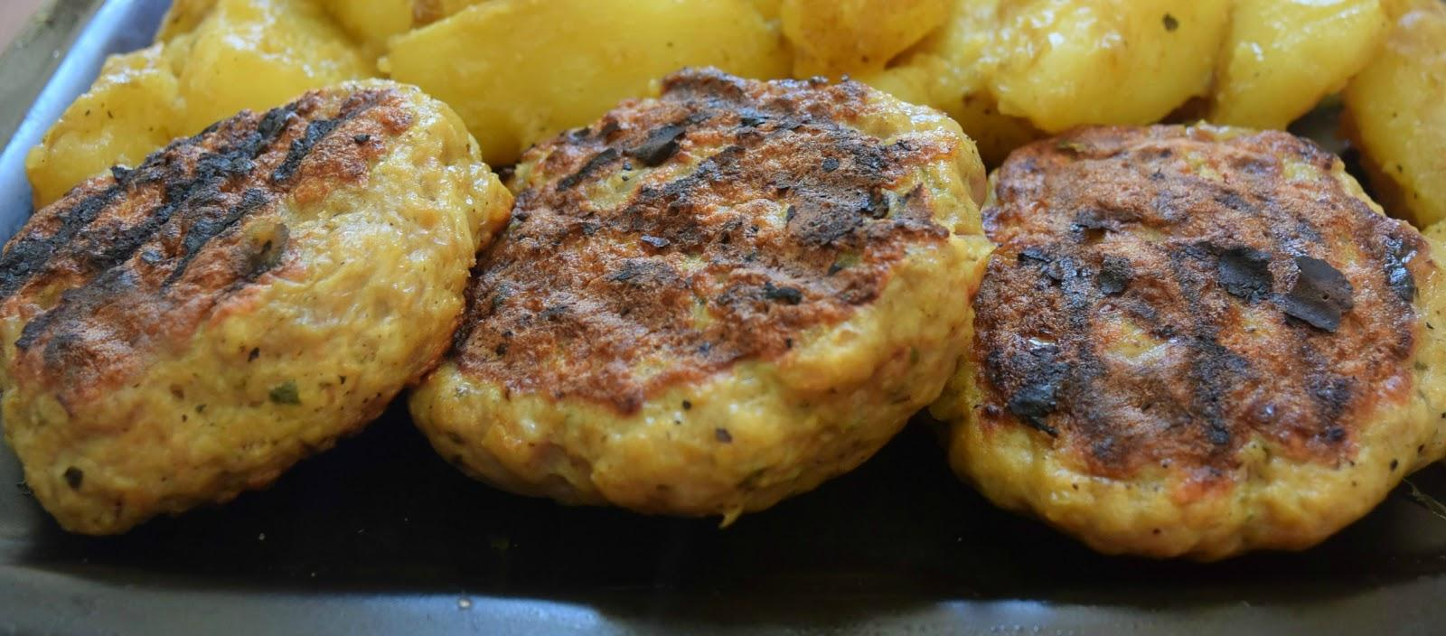 Μπιφτέκια με διαφορετικές πατάτες πεντανόστιμες