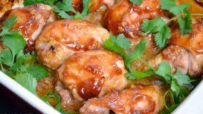 Μπουτάκια κοτόπουλου με μέλι!