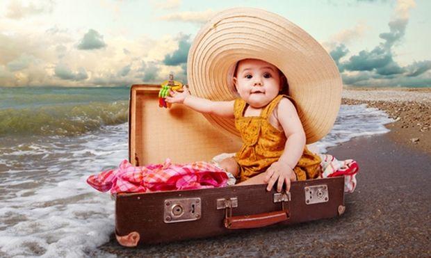 9 λόγοι για να ταξιδέψετε μαζί με το μωρό σας από τον πρώτο κιόλας χρόνο