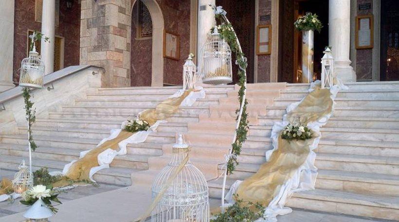 Τέλος οι «εξεζητημένοι στολισμοί» σε γάμους και βαφτίσεις!