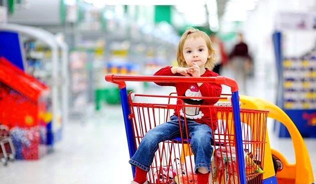 Ψώνια με το παιδί στο supermarket...Αυτό το βάσανο!