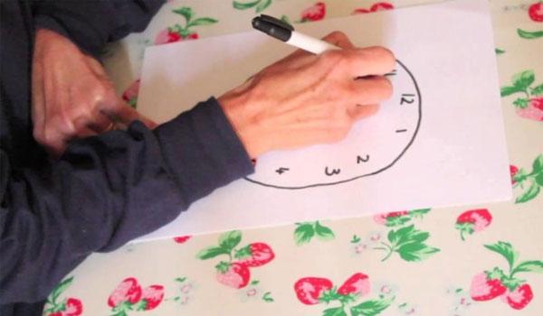 Αλτσχάιμερ, άνοια και γνωστική εξασθένηση: Πώς γίνεται το τεστ με το ζωγραφισμένο ρολόι