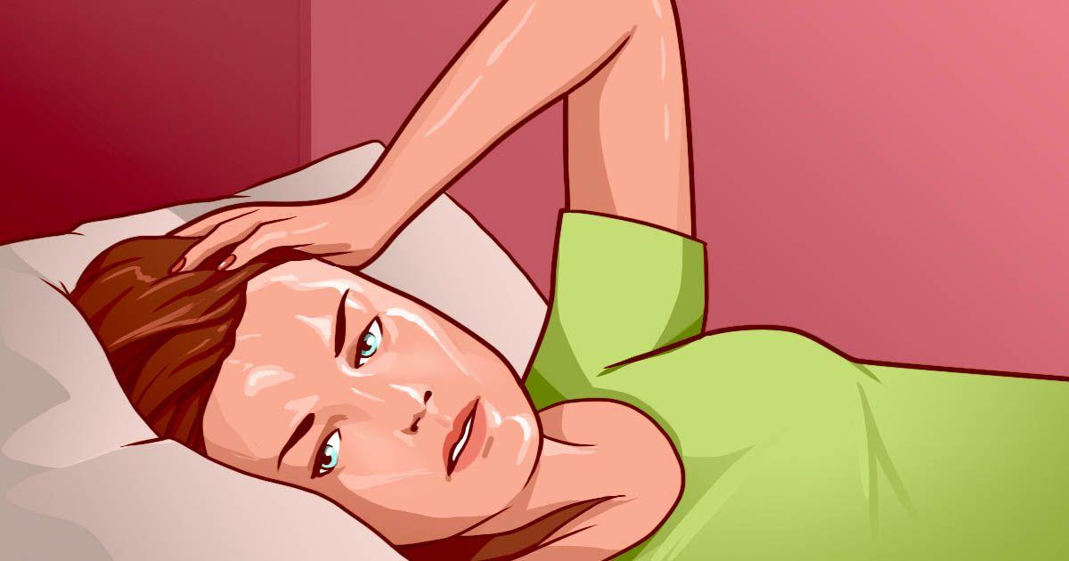 Μήπως ξυπνάτε κάθε βράδυ ιδρωμένοι; Δείτε γιατί...