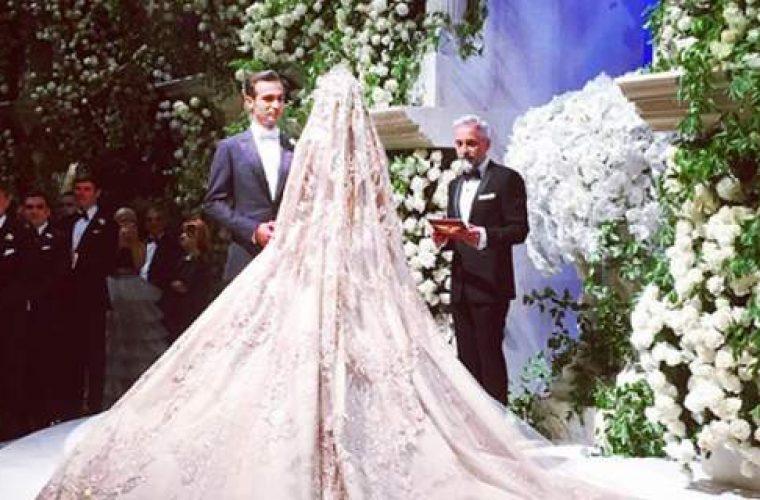 Ο γάμος της απόλυτης χλιδής: Ρώσος ολιγάρχης ξόδεψε 10 εκατ. ευρώ για να παντρέψει την κόρη του! (εικόνες)