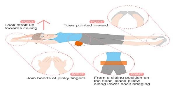 Χάστε κιλά ξαπλώνοντας για 15 λεπτά στο κρεβάτι κάθε μέρα, χωρίς δίαιτα ή ασκήσεις!