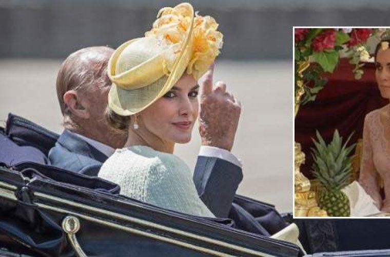 Ηττήθηκε από τη Λετίθια η Κέιτ Μίντλετον -Μουτρωμένη και κακοντυμένη η δούκισσα, αεράτη και στιλάτη η βασίλισσα! (εικόνες)
