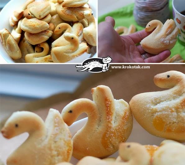 Πως να φτιάξουμε μπισκότα κύκνους βήμα-βήμα!