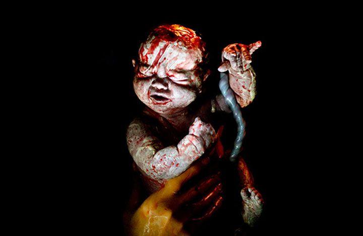 Απίστευτες φωτογραφίες από μωρά, δευτερόλεπτα μετά τη γέννηση τους!