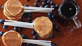 Iδέες για πάρτυ με τηγανίτες σε ξυλάκια
