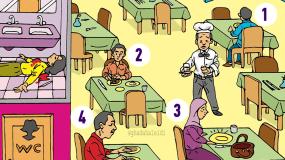 Μπορείτε να βρείτε τον δολοφόνο σε αυτό το σκίτσο;