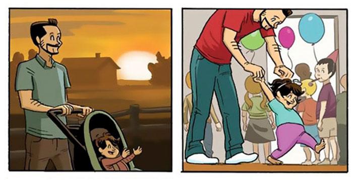 Αυτά τα σκίτσα που δείχνουν πως μεγαλώνουμε θα αλλάξουν την άποψή σας για την ζωή