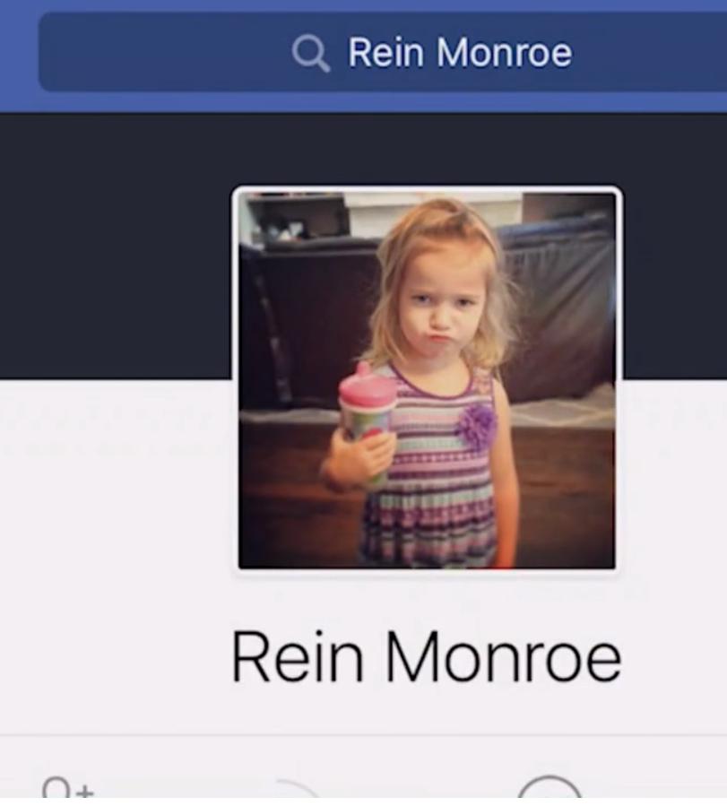 Αυτή η μαμά είδε την φωτογραφία της κόρης της σε ένα προφίλ ενός ξένου που ισχυριζόταν οτι ήταν η νεκρή κόρη του