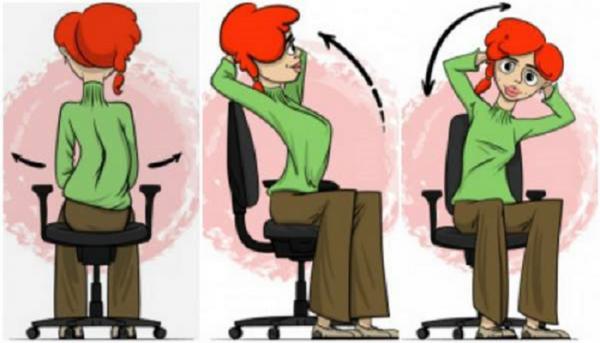 Δυναμώστε την πλάτη σας, ενώ κάθεστε- Οι ασκήσεις που θα λατρέψετε!