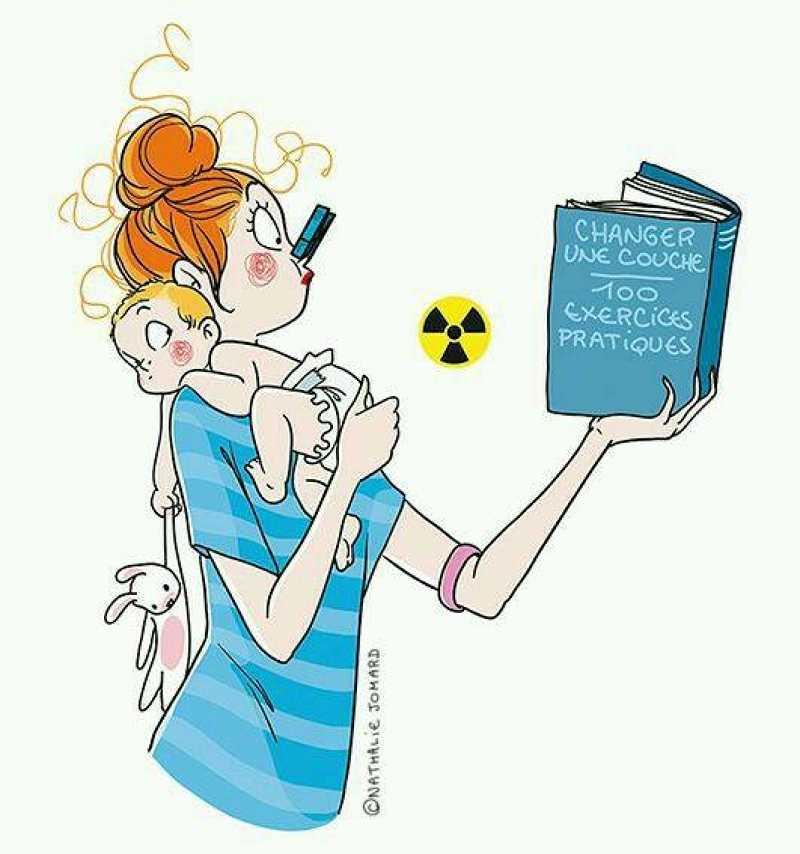 Η μητρότητα είναι η πιο δύσκολη δουλειά στον κόσμο! Δείτε τα σκίτσα που θα σας πείσουν!