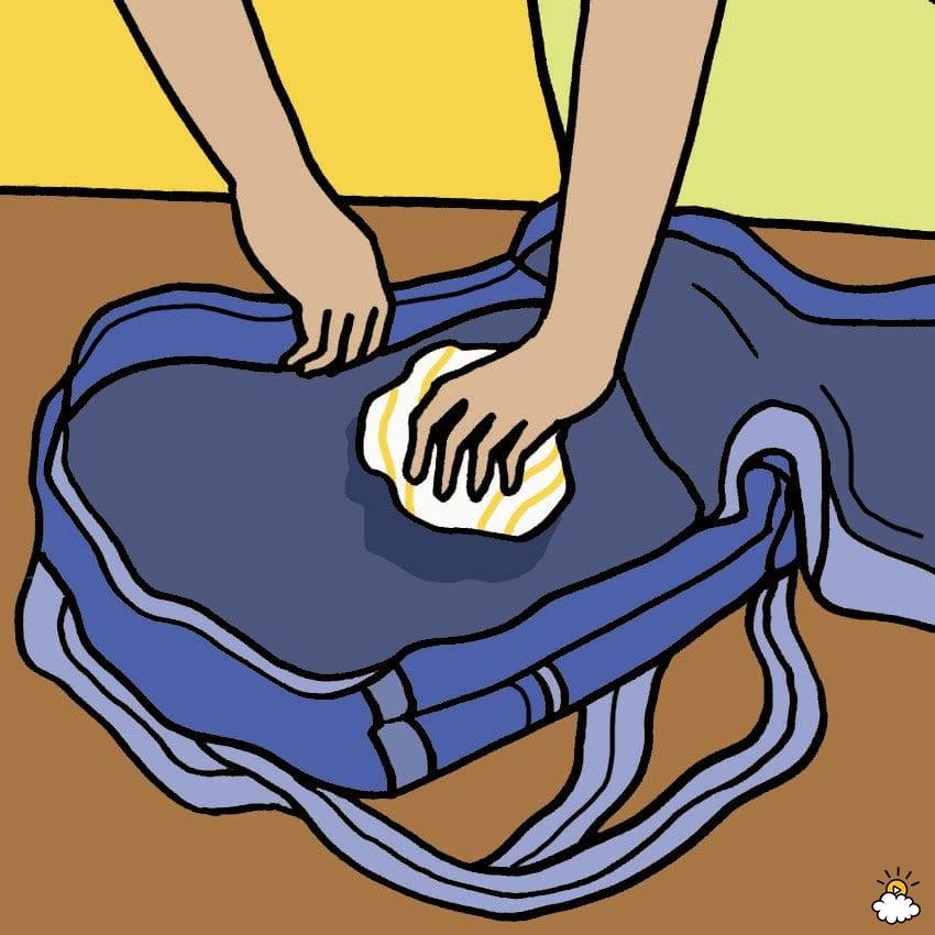 Πώς να απολυμάνετε τη σχολική τσάντα;