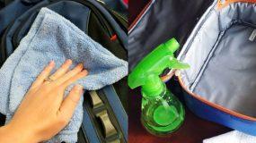 Πως να καθαρίσετε την σχολική τσάντα του παιδιού στο πλυντήριο ή στο χέρι;