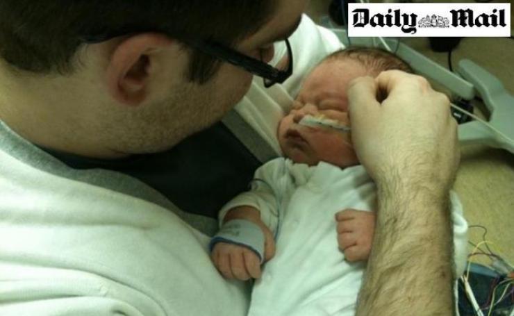 Παγοθεραπεία: «Ξεπάγωσαν»Το Μωρό Ώστε Να Μπορέσουν Οι Γονείς Του Να Το Αγκαλιάσουν Για Πρώτη Φορά…