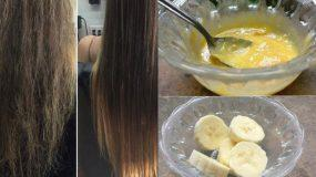 Ειδική σπιτική μάσκα για αναζωογόνηση μαλλιών μετά τις διακοπές