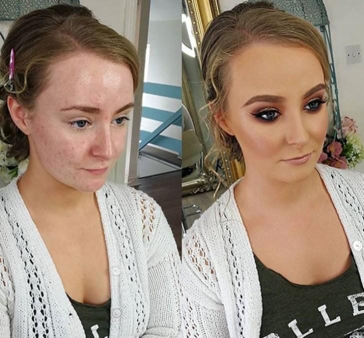 20 Σοκαριστικές μεταμορφώσεις γυναικών με την βοήθεια του μακιγιάζ που θα σας κάνουν να τρίβετε τα μάτια σας