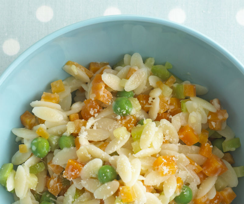 Συνταγή για μωρά: Ριζότο ζυμαρικών, έτοιμο σε 15 λεπτά!