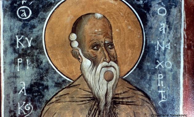 Ο Άγιος Κυριακός ο αναχωρητής (29 Σεπτεμβρίου)