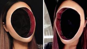 Αυτή η Γυναίκα που δημιουργεί Απίστευτες Οφθαλμαπάτες ΜΟΝΟ με Μακιγιάζ θα σας κάνει να Τρίβετε τα Μάτια σας!