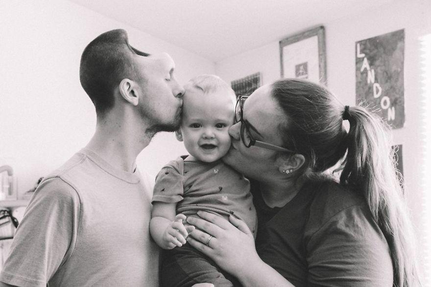 Μια συγκλονιστική ιστορία.. Αυτή η γυναίκα μοιράζεται  τι προκάλεσαν τα ενεργειακά ποτά στον άνδρα της, όταν αυτή ήταν 9 μηνών έγκυος.
