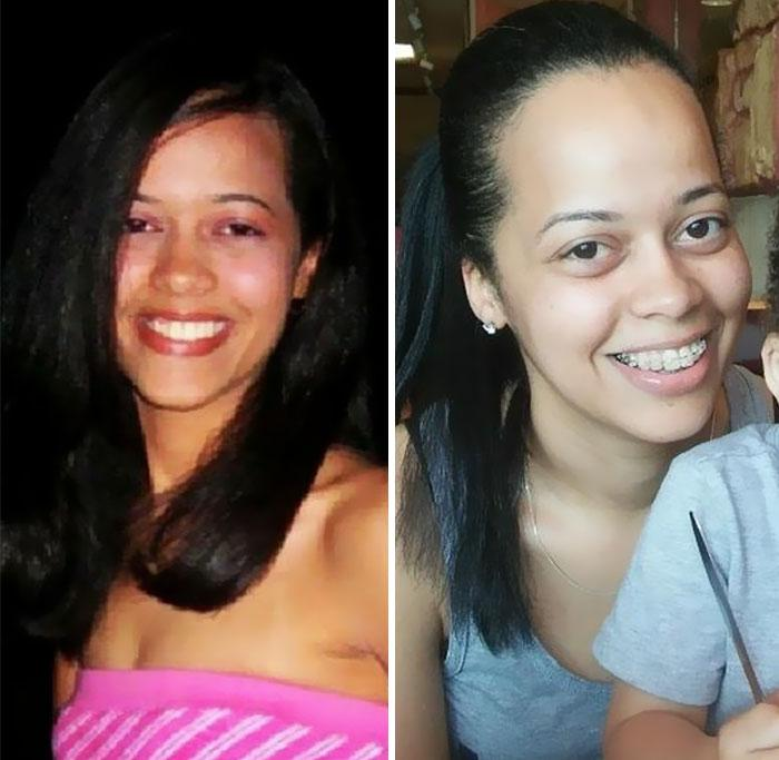 Φωτογραφίες γονιών πριν και μετά την απόκτηση παιδιών.. Η διαφορά είναι εμφανής...