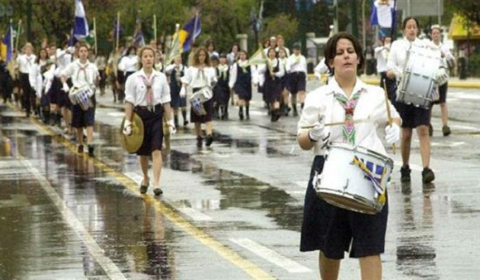 Υπό βροχή η παρέλαση. Χαλάει ο καιρός την 28η Οκτωβρίου! Ο Καλλιάνος προειδοποιεί