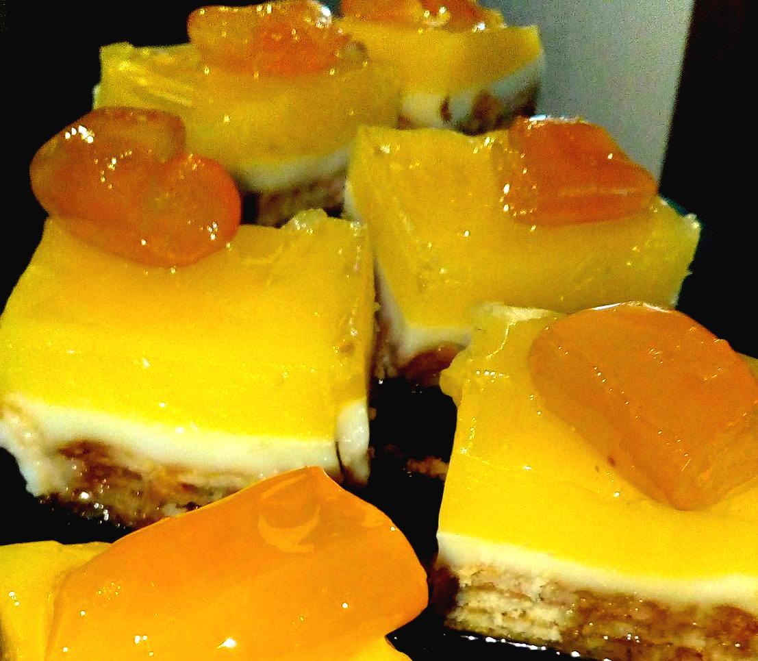 Ευκολά παστάκια με γεύση πορτοκαλιού  μόνο με πέντε υλικά